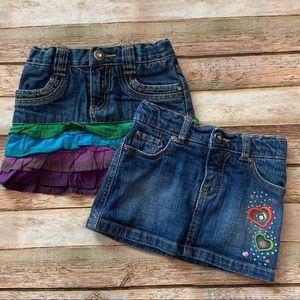 Children's Place Denim Skirts - Size 24 Months